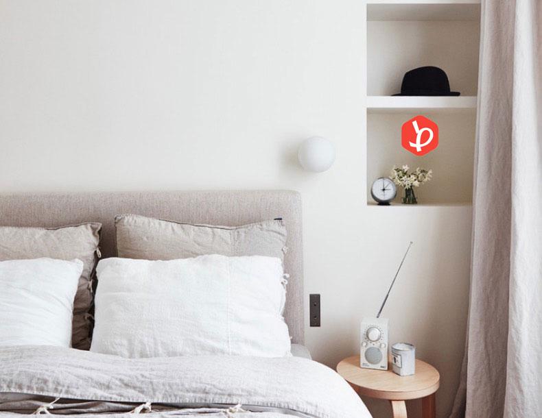 تاقچه اتاق خواب
