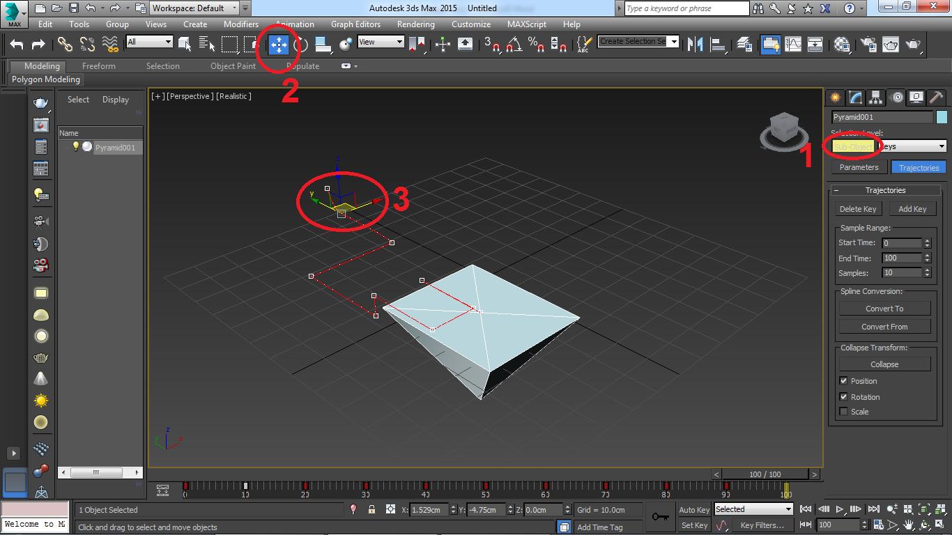 آموزش انیمیشن سازی با 3d max