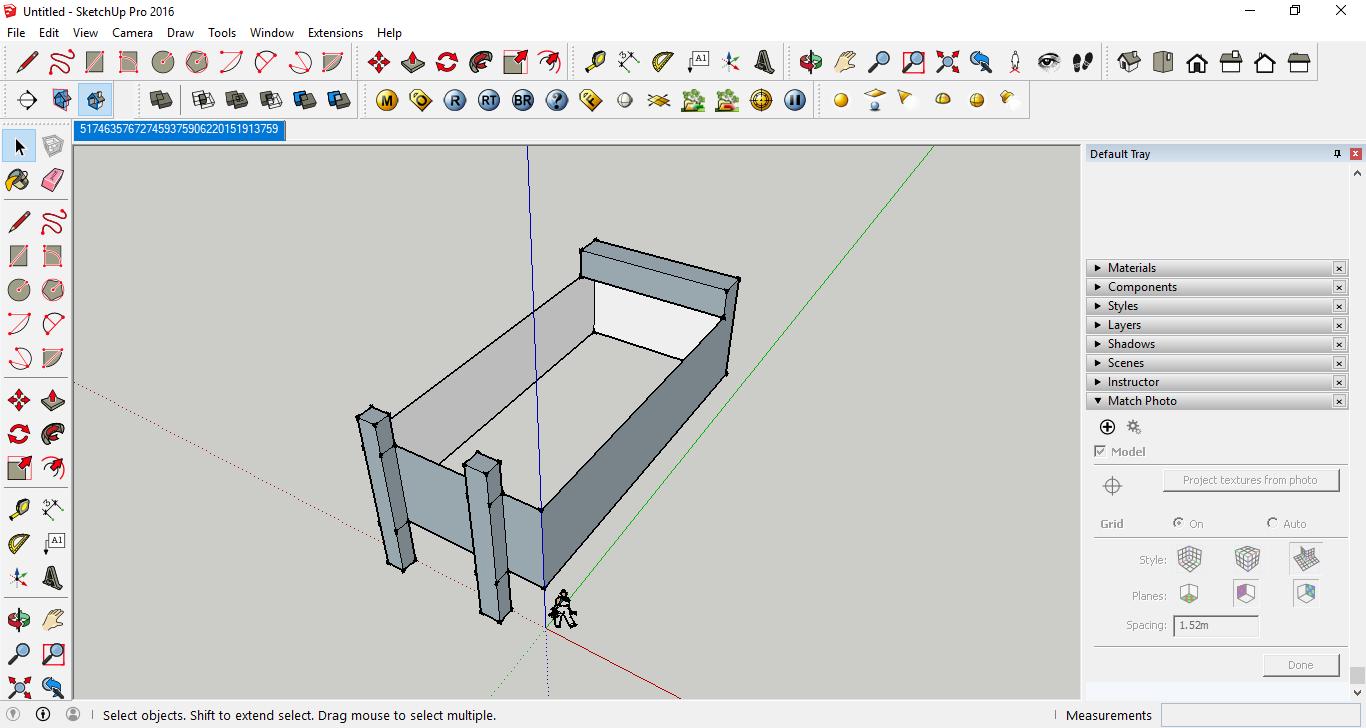 مدل سازی عکس در اسکچاپ به وسیله Line