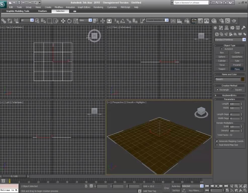 انیمیشن سازی در 3D MAX