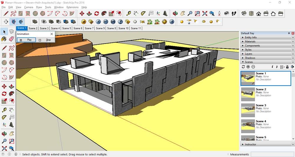 انیمیشن سازی در اسکچاپ 16