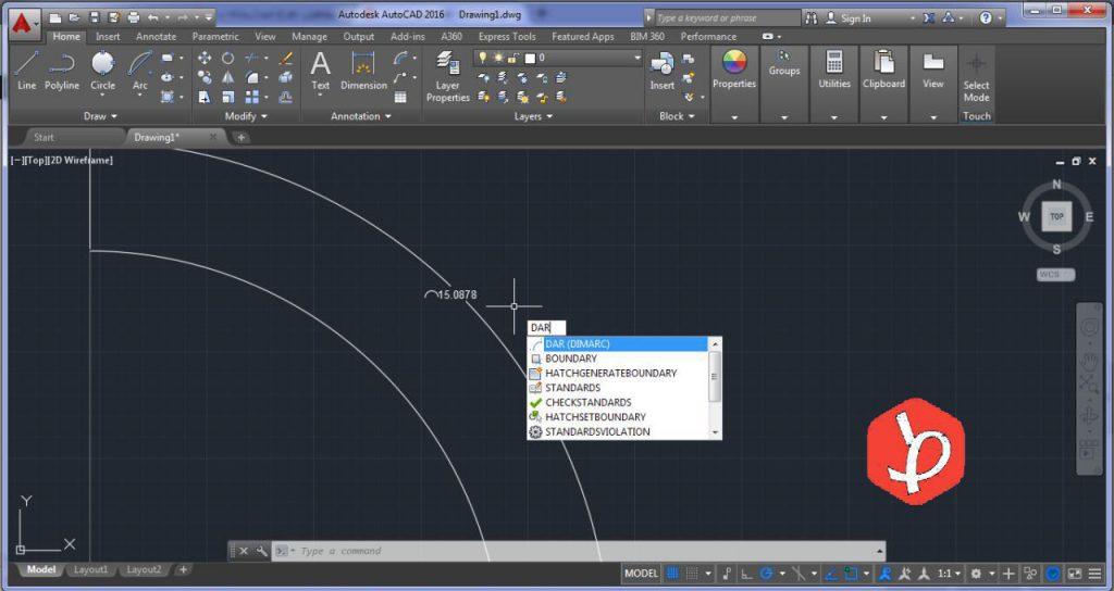 اندازه گیری خطوط منحنی شکل