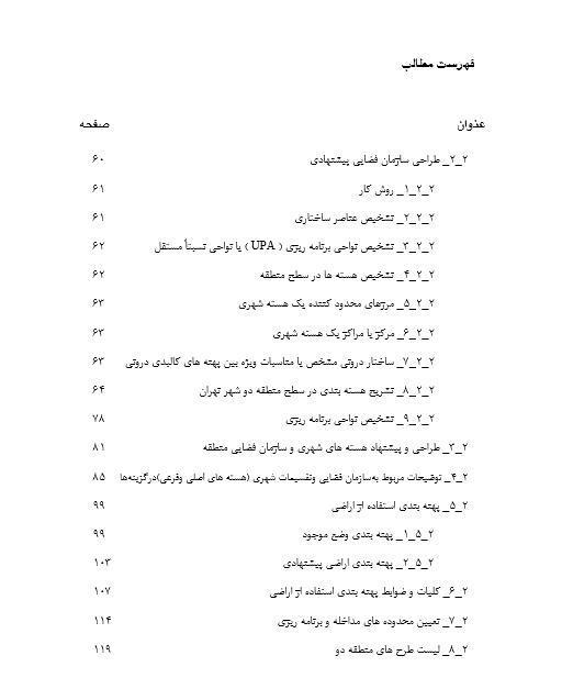 طرح تفصیلی منطقه 2 تهران