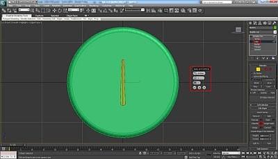 طراحی ساعت سه بعدی در تری دی مکس 12