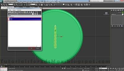 طراحی ساعت سه بعدی در تری دی مکس 14