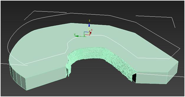 مدل سازی سه بعدی آبشار نیاگارا در ۳DMax 14