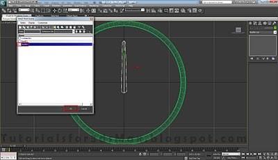 طراحی ساعت سه بعدی در تری دی مکس 16