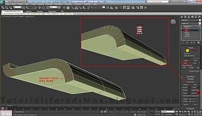 طراحی صندلی سه بعدی در ۳DMax 17