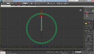 طراحی ساعت سه بعدی در تری دی مکس 18