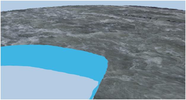 مدل سازی سه بعدی آبشار نیاگارا در ۳DMax 18