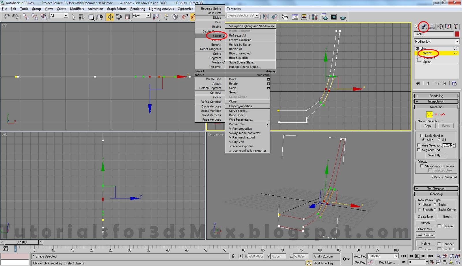 آموزش مدلسازی فنجان در تری دی مکس 2