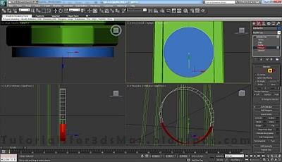 طراحی ساعت سه بعدی در تری دی مکس 20