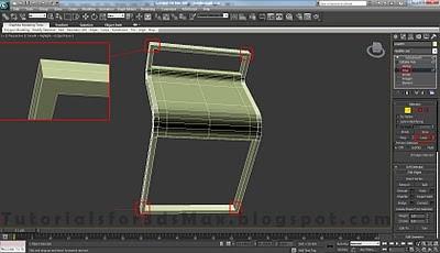 طراحی صندلی سه بعدی در ۳DMax 20