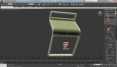 طراحی صندلی سه بعدی در ۳DMax 21
