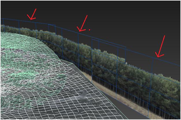 مدل سازی سه بعدی آبشار نیاگارا در ۳DMax 24