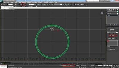 طراحی ساعت سه بعدی در تری دی مکس 25