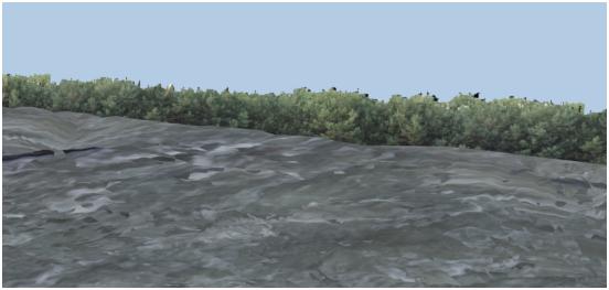 مدل سازی سه بعدی آبشار نیاگارا در ۳DMax 25