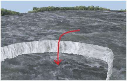 مدل سازی سه بعدی آبشار نیاگارا در ۳DMax 26
