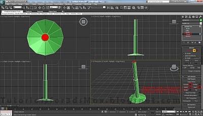 طراحی صندلی سه بعدی در ۳DMax 27