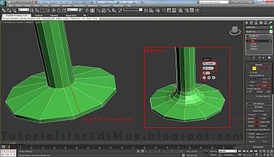 طراحی صندلی سه بعدی در ۳DMax 28