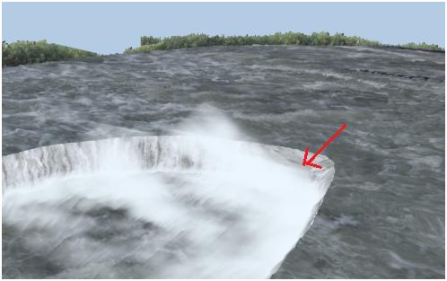 مدل سازی سه بعدی آبشار نیاگارا در ۳DMax 28