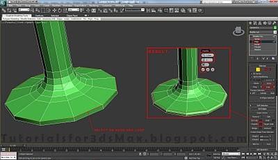 طراحی صندلی سه بعدی در ۳DMax 29