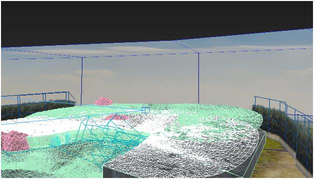 مدل سازی سه بعدی آبشار نیاگارا در ۳DMax 29