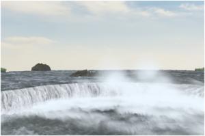 مدل سازی سه بعدی آبشار نیاگارا در ۳DMax 31