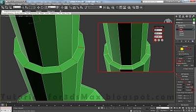 طراحی صندلی سه بعدی در ۳DMax 32