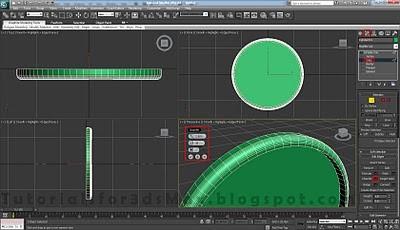 طراحی ساعت سه بعدی در تری دی مکس 5