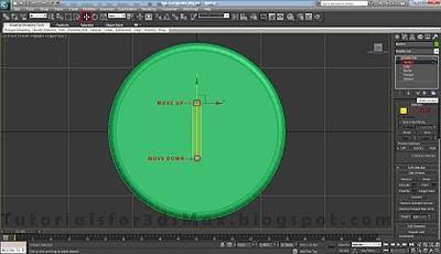 طراحی ساعت سه بعدی در تری دی مکس 9