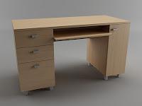 طراحی میز در تری دی مکس