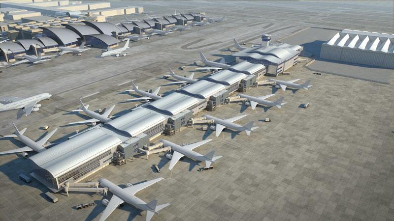 طراحی ۴ فرودگاه بینالمللی که آینده سفر را راحتتر خواهد کرد 1