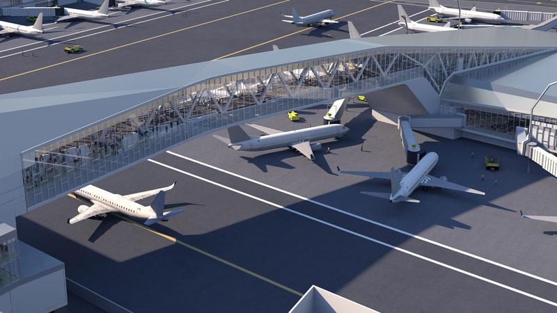 طراحی ۴ فرودگاه بینالمللی که آینده سفر را راحتتر خواهد کرد 6