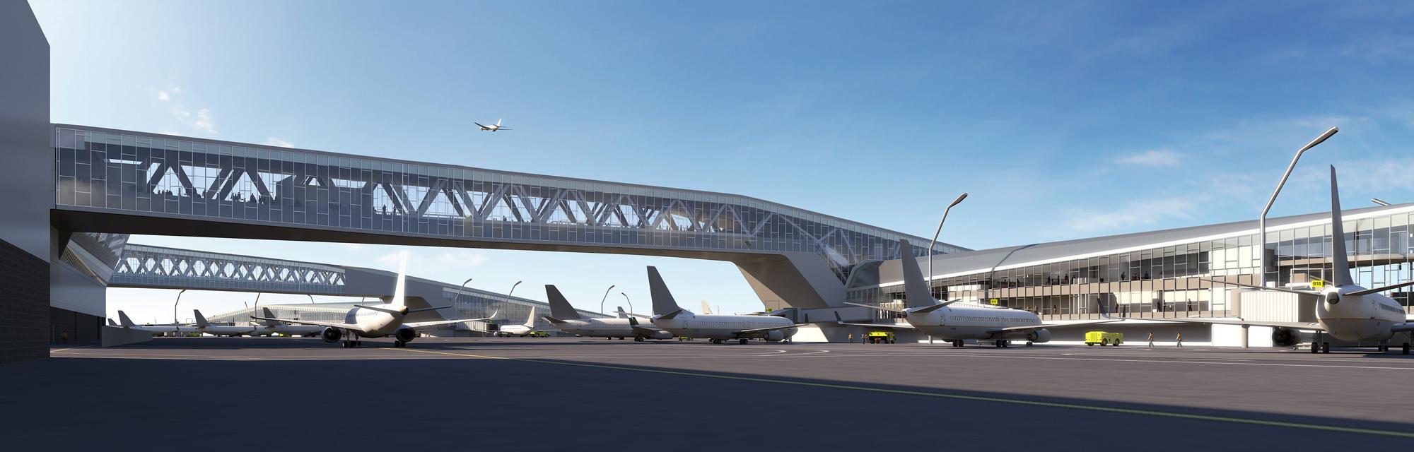 طراحی ۴ فرودگاه بینالمللی که آینده سفر را راحتتر خواهد کرد 5