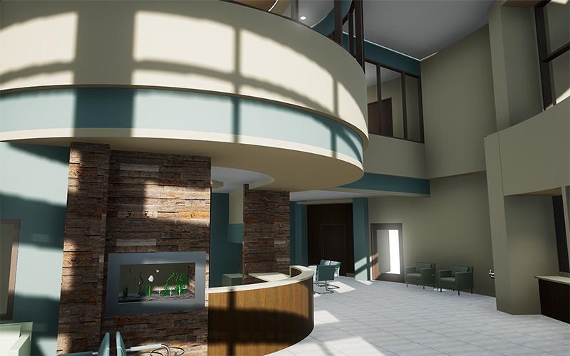 VR Transforms 1 lobby - واقعیت مجازی پزشکان را به ساختوساز مجازی فرا میخواند