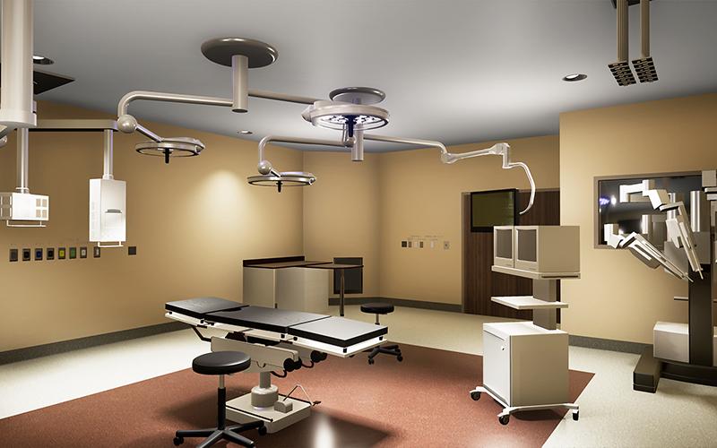 VR Transforms 2 operating room - واقعیت مجازی پزشکان را به ساختوساز مجازی فرا میخواند