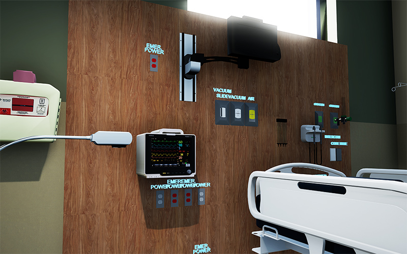 VR Transforms 4 equipment closeup - واقعیت مجازی پزشکان را به ساختوساز مجازی فرا میخواند