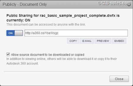 اتودسک 360 و اشتراک گذاری فایل ها و طراحی ها در آن 3
