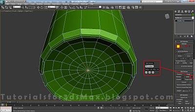 گام دهم طراحی قوطی در تری دی مکس
