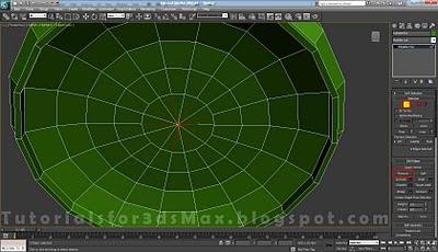 گام یازدهم طراحی قوطی در 3DMax