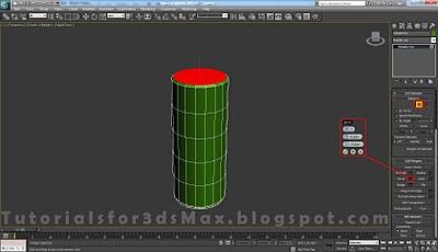 گام پانزدهم طراحی قوطی در 3DMax