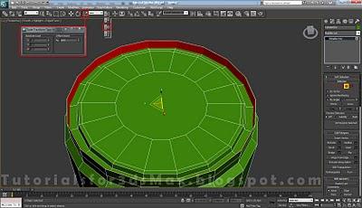 گام بیست و دوم طراحی قوطی در 3DMax