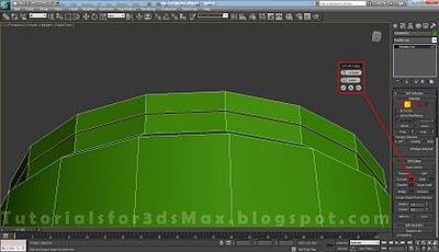 گام بیست و چهارم طراحی قوطی در 3DMax