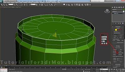 گام بیست و پنجم طراحی قوطی در 3DMax