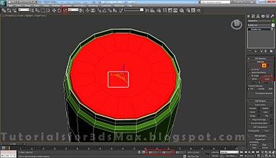 گام بیست و ششم طراحی قوطی در 3DMax
