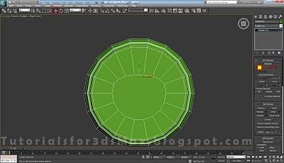 گام بیست و هفتم طراحی قوطی در 3DMax