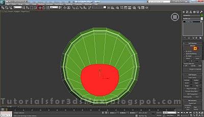 گام بیست و هشتم طراحی قوطی در 3DMax