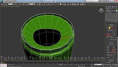 گام بیست و نهم طراحی قوطی در 3DMax
