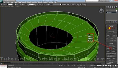گام سی و یکم طراحی قوطی در 3DMax